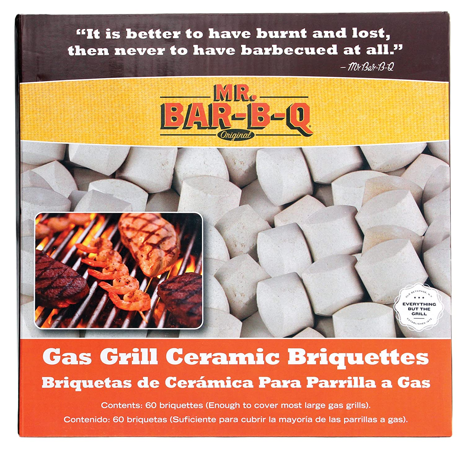 Mr. Bar-B-Q 06000Y Gas Grill Ceramic Briquettes