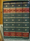 """The New RHS Dictionary Of Gardening : """" 4 Volumes , Folio Edition"""""""