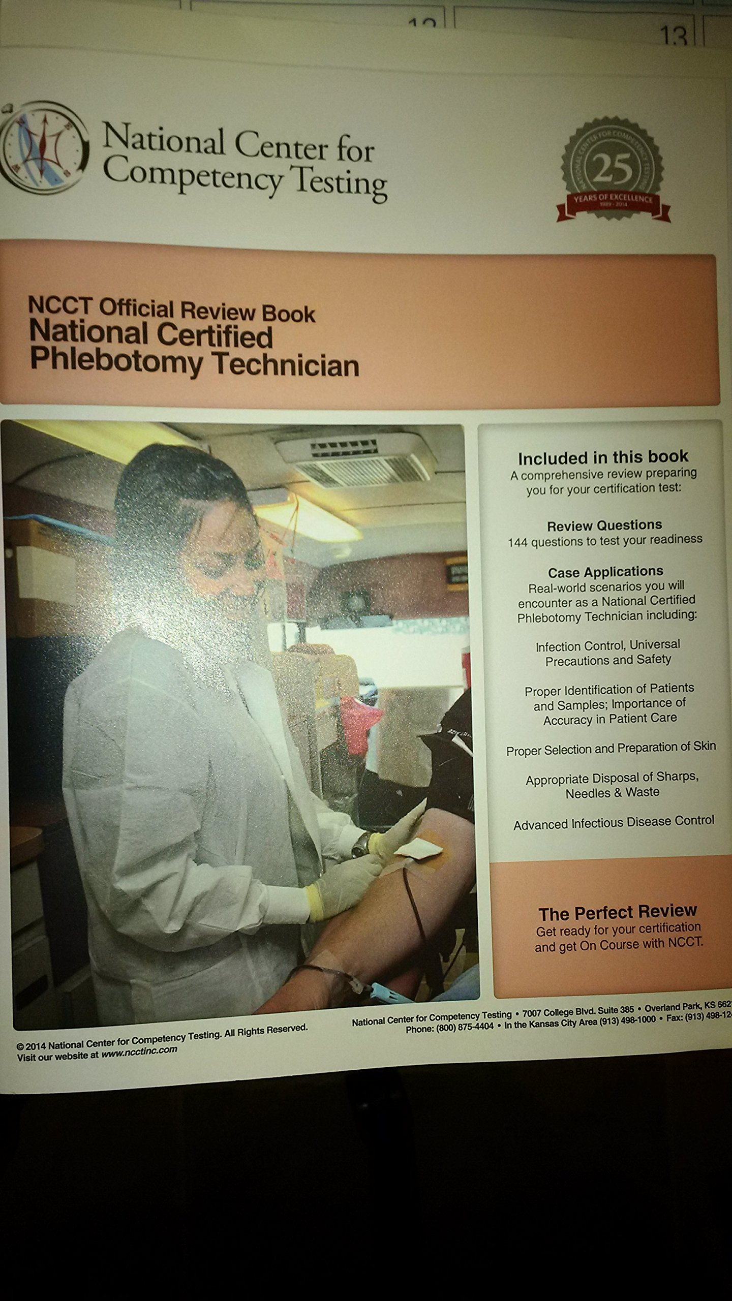 Ncct Official Review Book National Certified Phlebotomy Technician