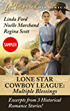 Lone Star Cowboy League: Multiple Blessings Sampler