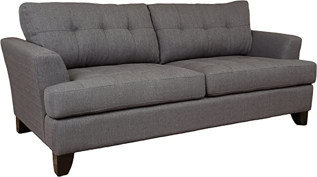 Amazon.com: Porter Designs Norwich Contemporary Tufted Sofa ...