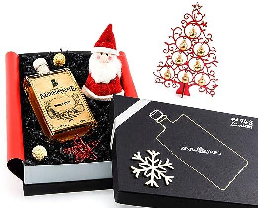 Schöne Weihnachtsgeschenke.Schöne Geschenkidee Weihnachtsgeschenk Set Mit Likör Whisky