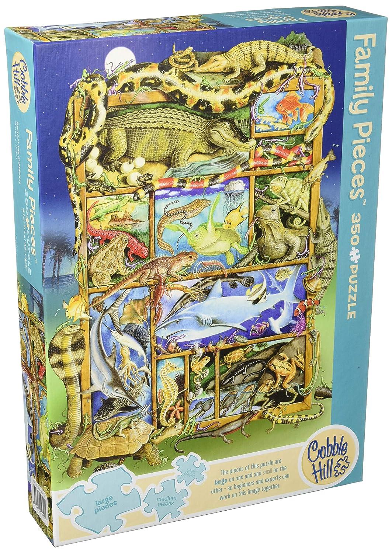 正規品販売! Cobblehill and 54620 Multi 350 Reptiles Amphibians and Amphibians Reptiles Puzzle, Various B07GFGDBCD, ラフェスタ岸和田店:c9adc6e1 --- a0267596.xsph.ru