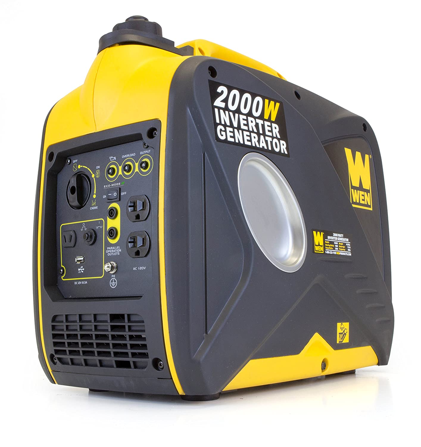 WEN 2000W Black and yellow quiet generator