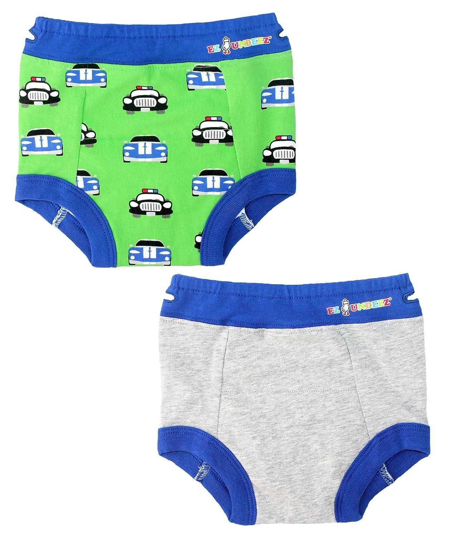 Ez Undeez Töpfchen Trainingshose für Kleinkind Jungen mit Gepolstertem Innenfutter Cars-Grey Solid) EZUN46-01-UK