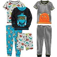 Simple Joys by Carter's Juego de Pijama de algodón de 6 Piezas Juego de Pijama para Niños
