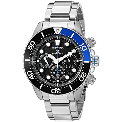 Seiko SSC017 Prospex Solar Powered Quartz Dive Watch