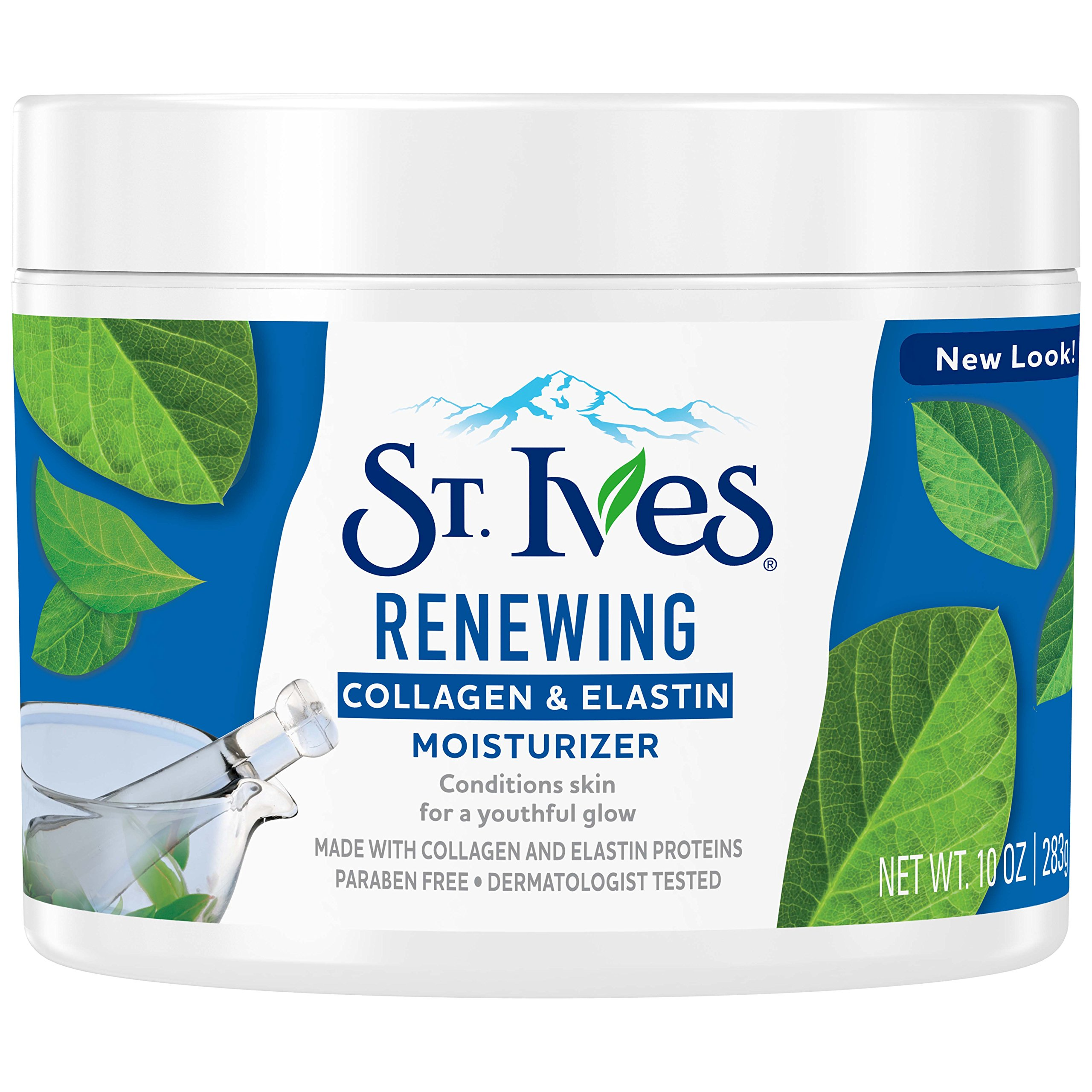 St. Ives Renewing Facial Moisturizer, Collagen Elastin, 10 oz
