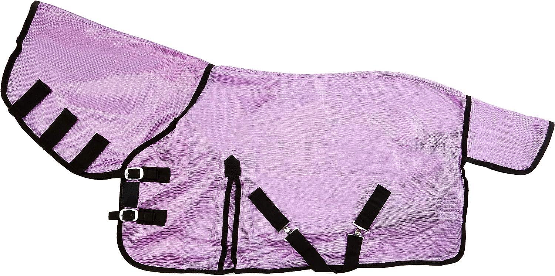 . 4 22,9/cm 3/22,9/cm Cwell Equine Nouveau Mini//Shetland//Poney Anti-Mouches en Maille Filet Souple Attach/ée Cou Coque Violet//Lillac 3/6