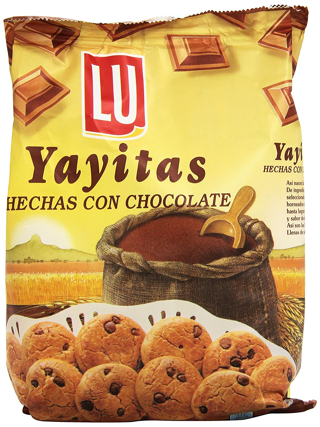 Lu Yayitas Galletas con Chocolate - 250 g: Amazon.es: Amazon ...