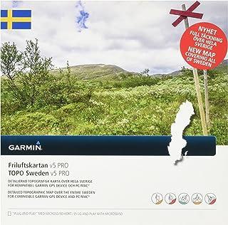Garmin Topo Uni Suède V5Pro Carte vectorielle topographique, Noir, Taille Unique GGGM5|#Garmin 010-12532-00