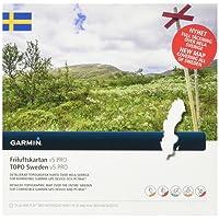 Garmin Topo Schweden v5 Pro Topographische Vektorkarte, Schwarz, One Size