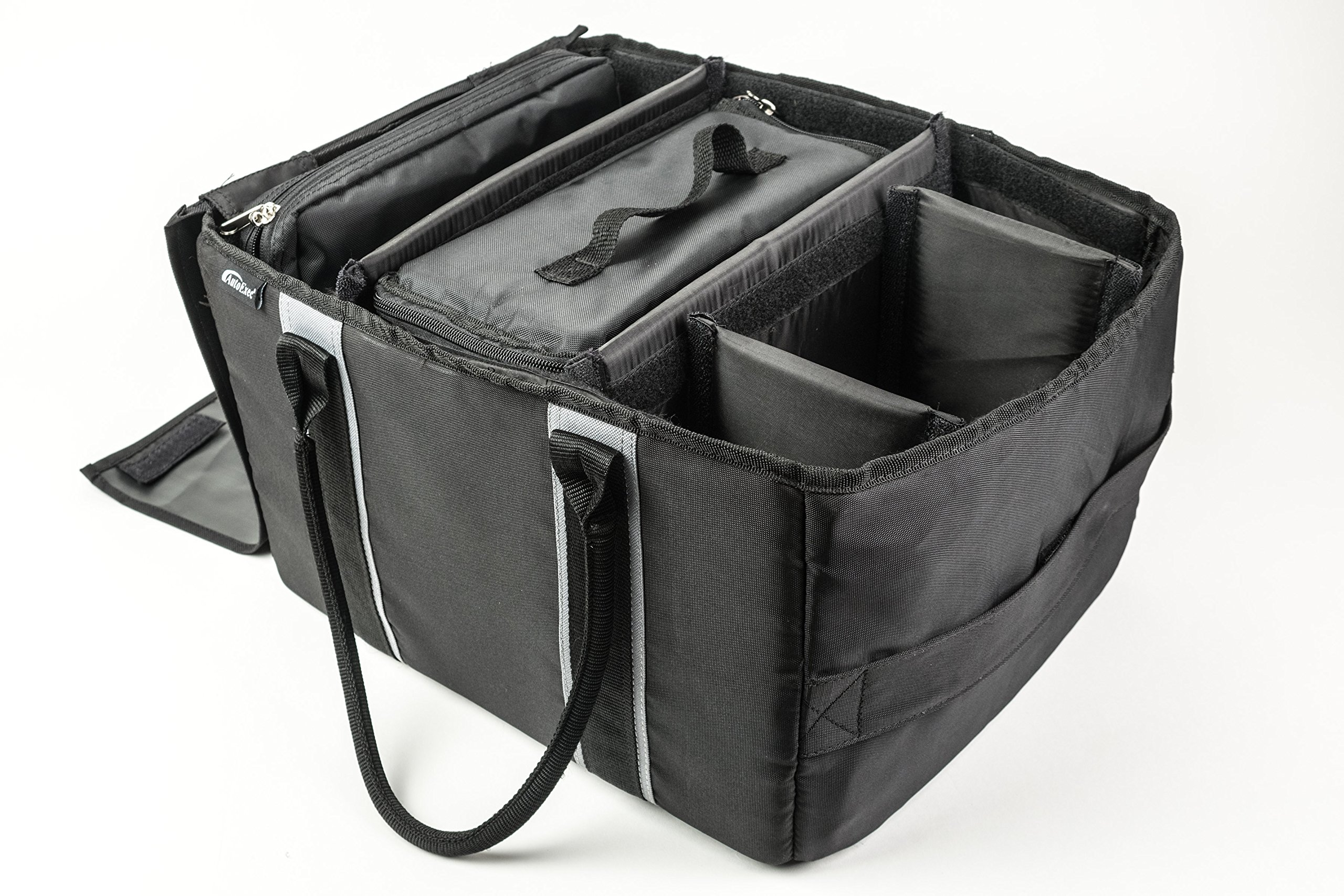AutoExec AETote-08 Black/Grey File Tote with One Cooler and One Hanging File Holder by AutoExec (Image #4)