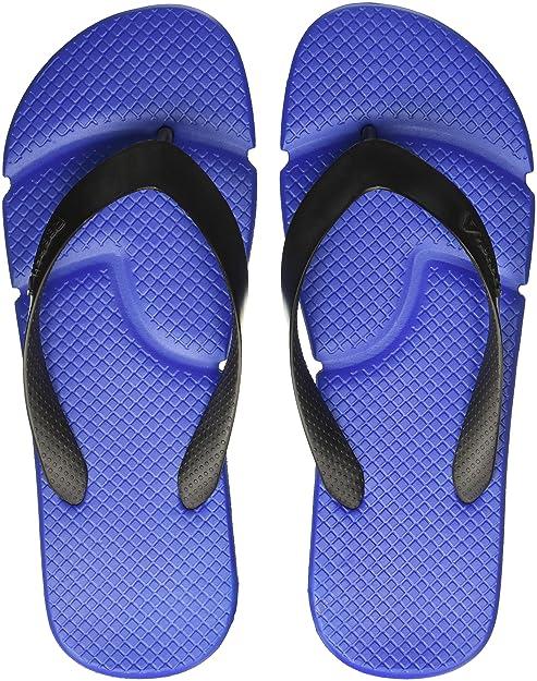 31750094f Reebok Men s Fresco Flip Awesome Blue Black Flip-Flops and House Slippers -  10