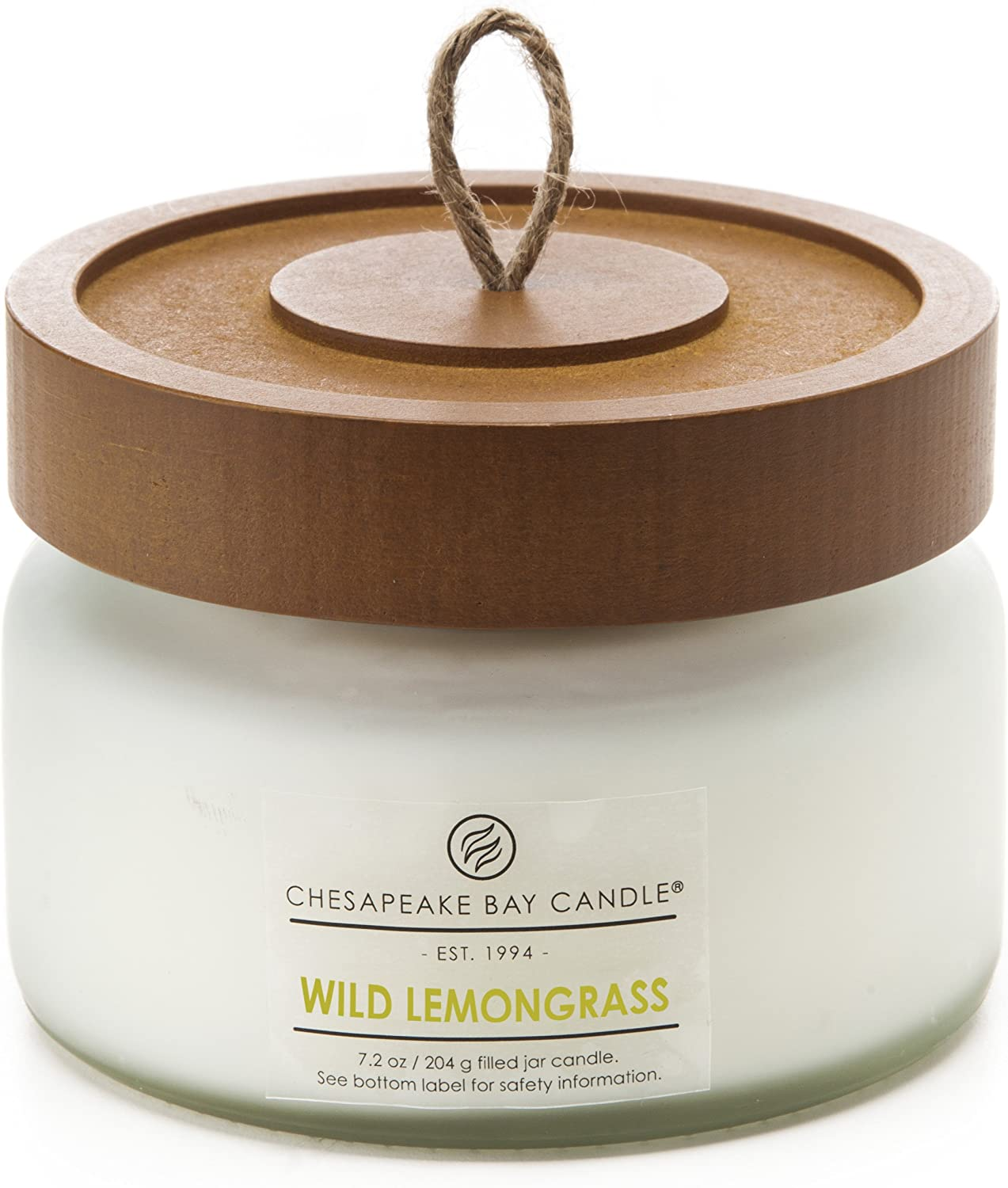 Chesapeake Bay Candle Scented Candle, Wild Lemongrass, Small Jar