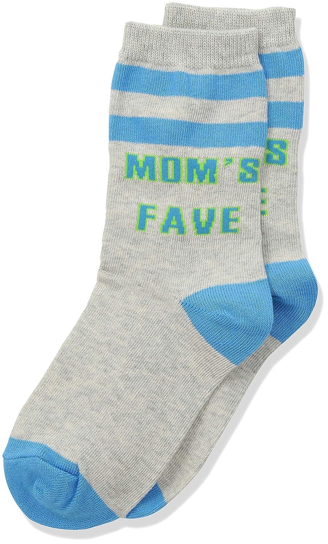 K Shoe Size: 10-13 heather gray Bell Girls Big Mom Fave Crew Socks