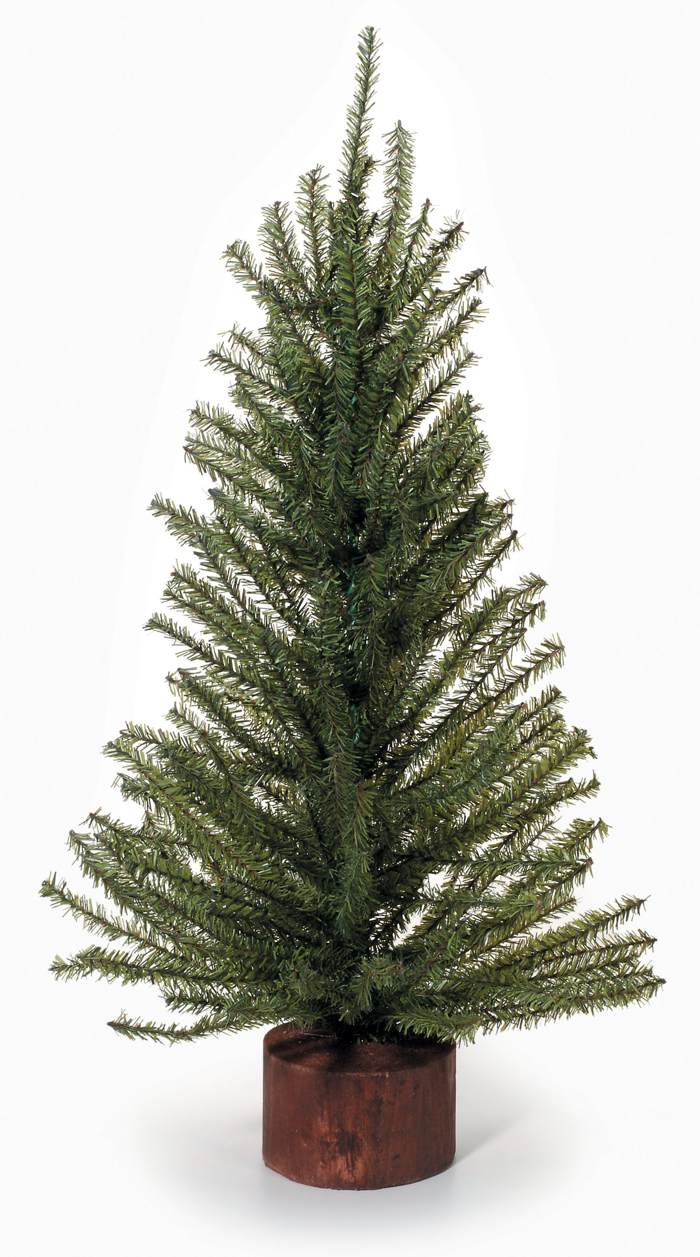 Mixed Pine Tree with Wood Base - 216 Tips - 24 inches (1 Tree)