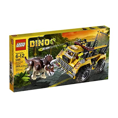 LEGO Dino Triceratops Trapper 5885: Toys & Games [5Bkhe1003072]