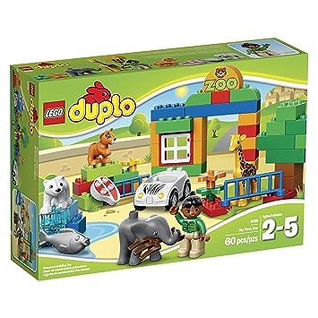 Lego Duplo 6136 Mein Erster Zoo Amazonde Spielzeug