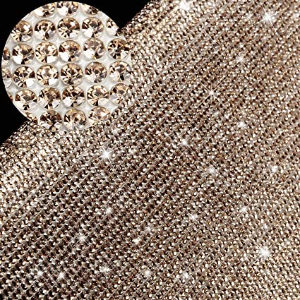 9.4 x 7.9 Inch Green 12000 Pieces Bling Bling Crystal Rhinestones Sticker DIY Car Decoration Sticker Self-Adhesive Glitter Rhinestones Crystal Gem Stickers for Car and Gift Decoration