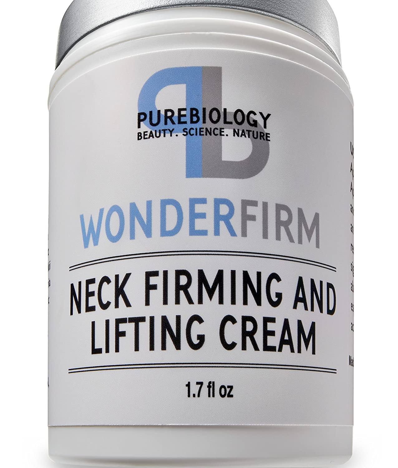 Neck Firming Cream With Breakthrough Lifting & Anti Wrinkle Complexes – Complete Anti Aging Moisturizer For Neck, Chest And Decollete by Pure Biology