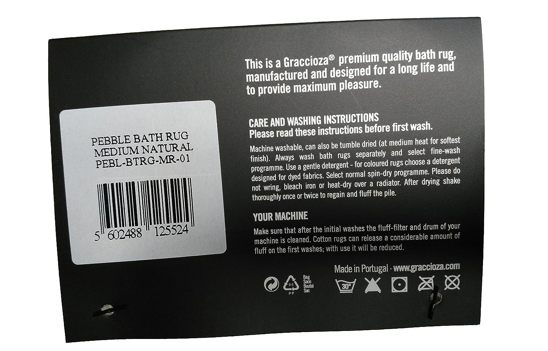 Amazon.com: Pebble Bath Rug, Natural, 21\