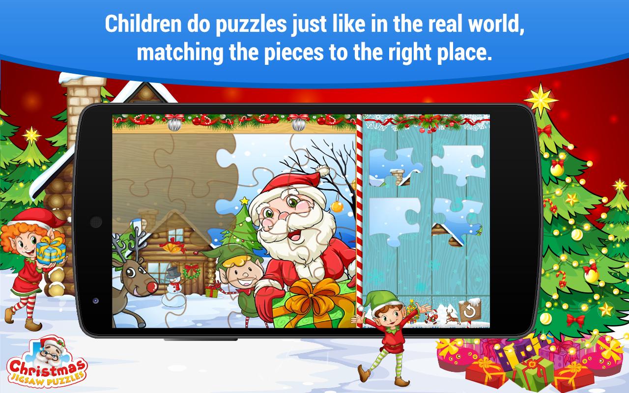 Jogos de Natal: Puzzles para crianças: Amazon.com.br