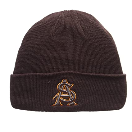 78a85878e1c ZHATS Arizona State Sun Devils Charcoal Gray X-RAY POP Cuff Beanie Hat -  NCAA