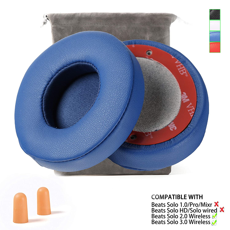 almohadillas para auriculares Beats Solo 2/3 azul