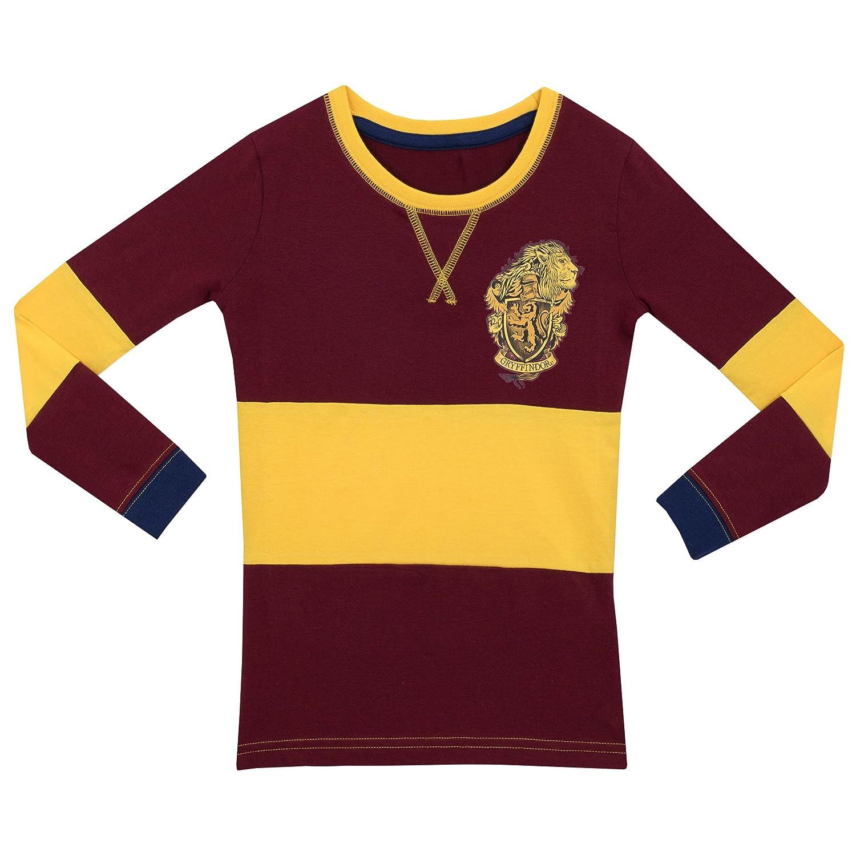 Harry Potter Girls Gryffindor Pyjamas Snuggle Fit