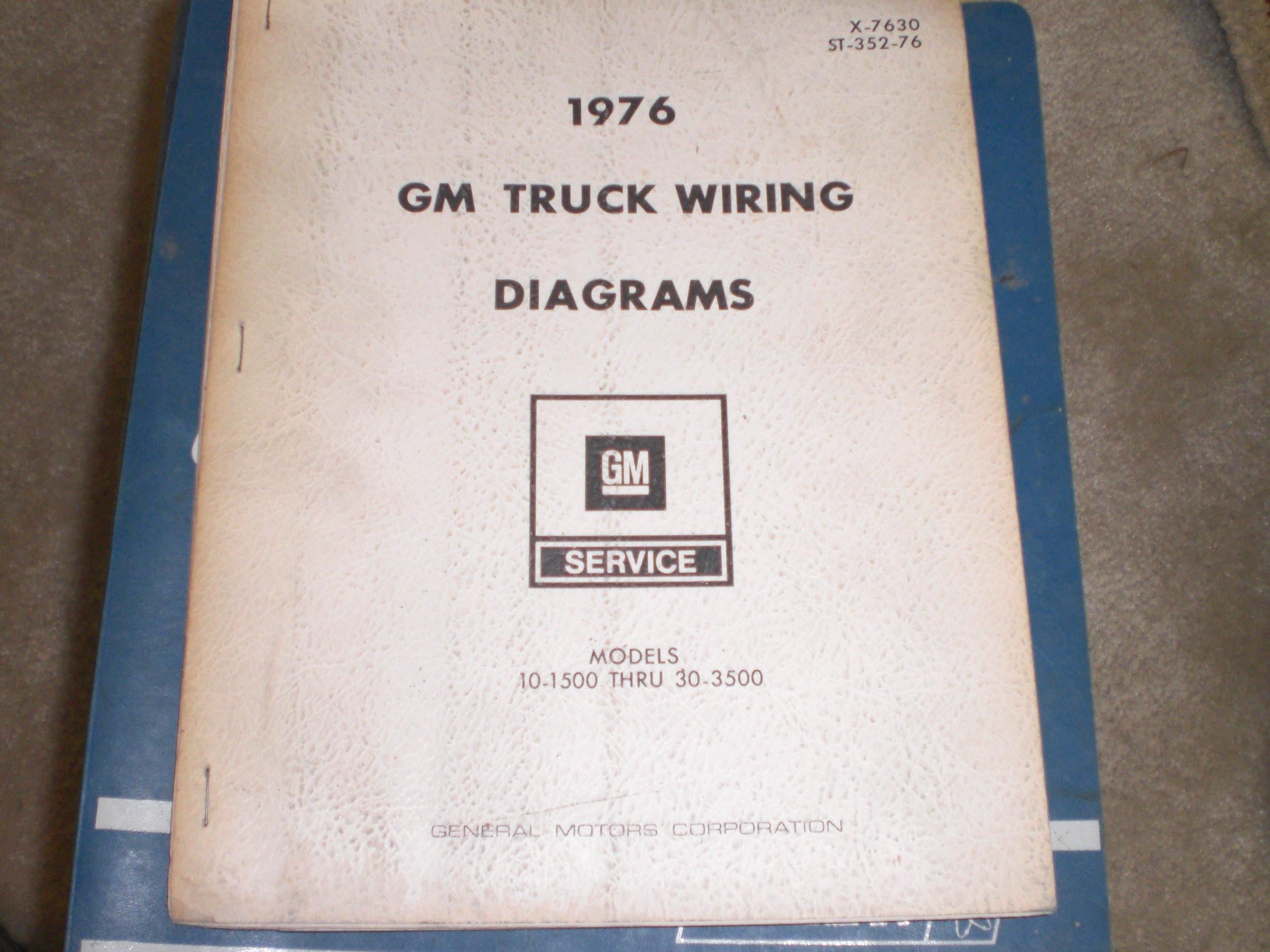 Gm Truck Wiring Diagrams 1976