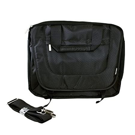 Amazon.com: TechTent® 14.1 Inch Nylon Laptop / Notebook Computer / Macbook / Tablet Shoulder Bag, Black | FAST SHIPPING: Computers & Accessories