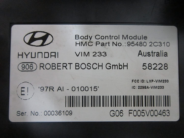 Toyota Echo Fuse Box Key Wiring Library 04 Kenworth Amazoncom 03 05 06 07 08 Hyundai Tiburon Body Control Module