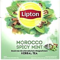 Lipton Kräutertee Marokkanische Minze Pyramidenbeutel 20 Stück, 3er Pack