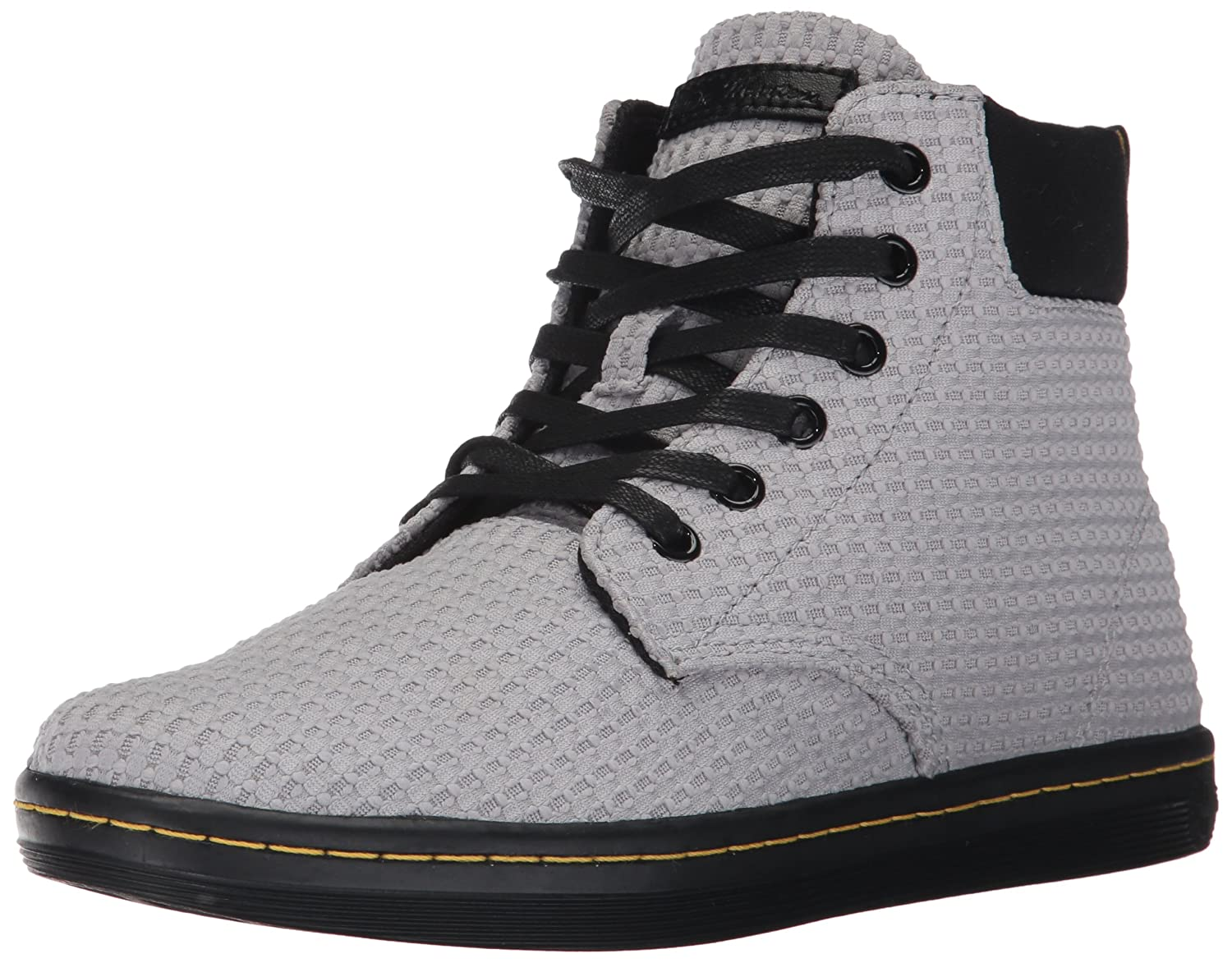 Dr. Martens Baskets Mode pour pour Baskets Femme Mid 3428 Grey+black 8742488 - boatplans.space
