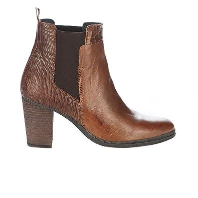 ae5313c6aae Ragazzi Boots Femme Marron Cognac - 41  Amazon.fr  Chaussures et Sacs