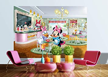 AG Design FTDs1926 Minnie Daisy Disney, Papier Fototapete ...