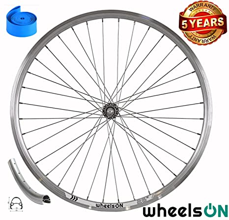 26 inch Rim Only Bicycle V-Brakes CNC MTB Hybrid Front Rear 559-18 Silver 36H