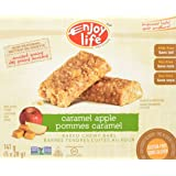 Enjoy Life Baked Chewy 1 Ounce Bars, Gluten Free, Dairy Free, Nut Free & Soy Free, Caramel Apple, 5 Count (Pack of 6)