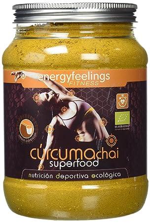 Energy Feelings Curcuma Chai antiinflamatorio - 750 gr: Amazon.es: Salud y cuidado personal