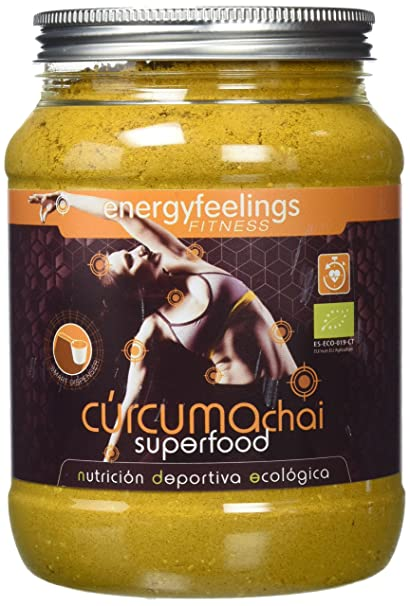 Energy Feelings Curcuma Chai antiinflamatorio - 750 gr