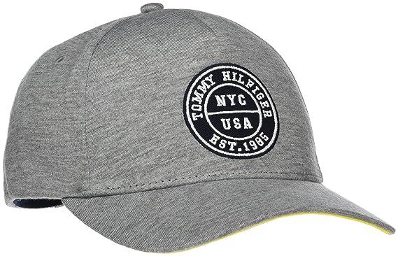 Tommy Hilfiger Varsity Cap, Gorra de béisbol para Hombre, Gris (Mid Grey 027), Fabricante: Talla única: Amazon.es: Ropa y accesorios
