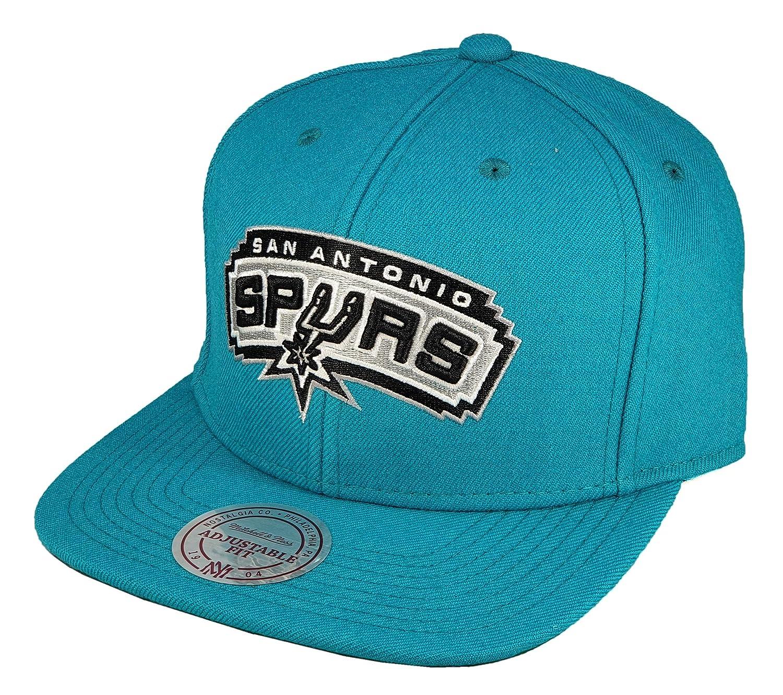 Mitchell /& Ness San Antonio Spurs NBA Snapback Cap