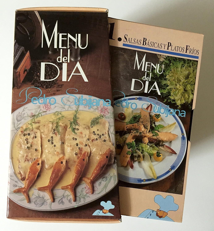 Pedro Subijana: Menú del Día (6 VHS): Pedro Subijana: Amazon.es: Amazon.es