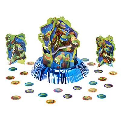 American Greetings Teenage Mutant Ninja Turtles Party Supplies Table Decorations Kit, 23-Count: Toys & Games