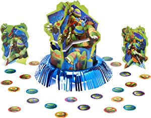 American Greetings Teenage Mutant Ninja Turtles Party Supplies Table Decorations Kit, 23-Count