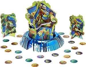 American Greetings Teenage Mutant Ninja Turtles Party Supplies Table Decorations Kit, 23-Count