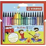 Stabilo Mini Pen 68 18-color Wallet