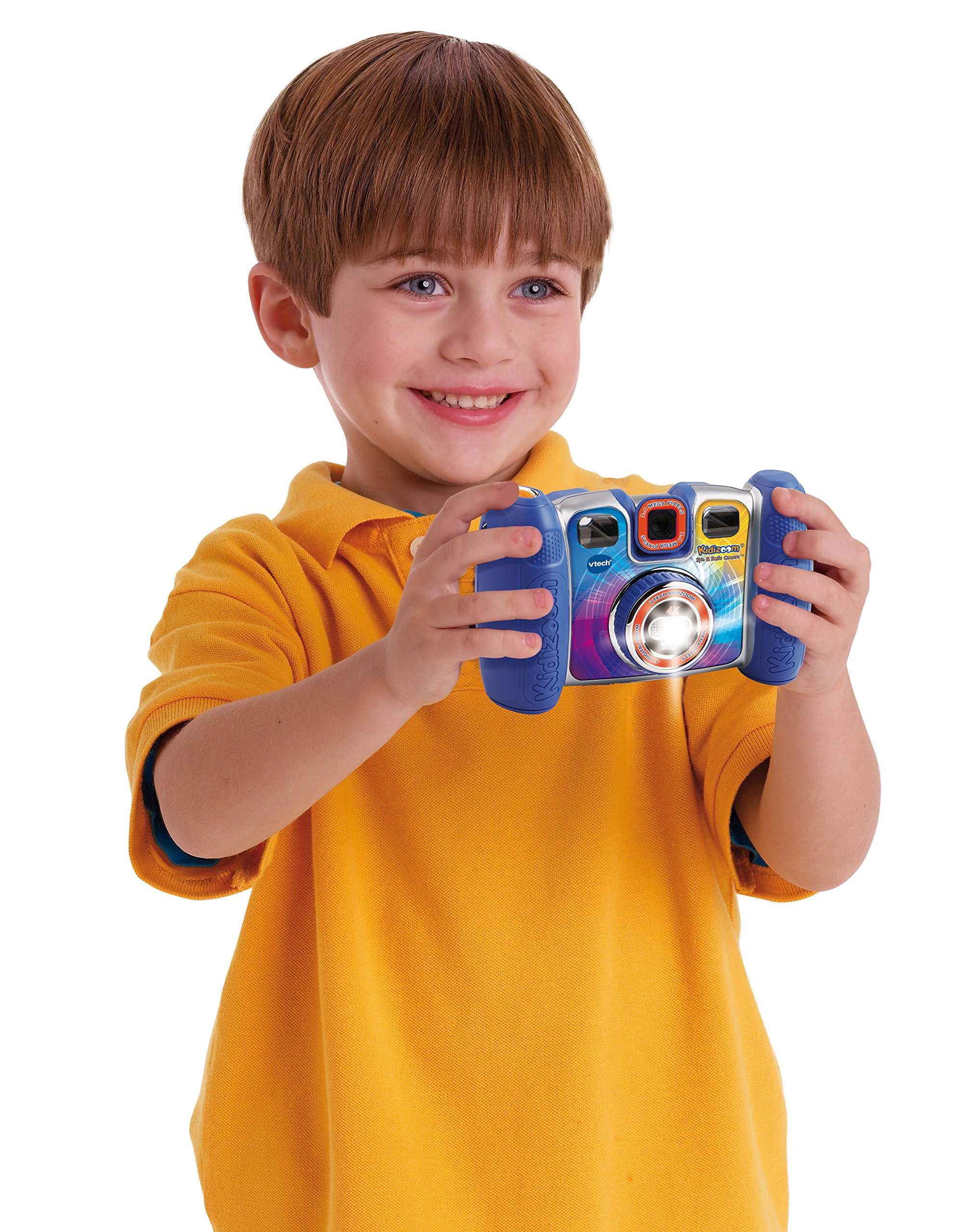 VTech Kidizoom Spin and Smile Camera, Blue by VTech (Image #4)