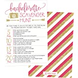 25 bachelorette scavenger hunt party games girls night out weekend funny naughty cards for scavenger